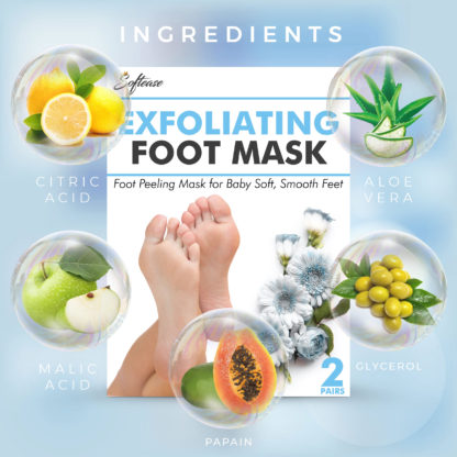 Softease Foot Mask Natural Ingredients
